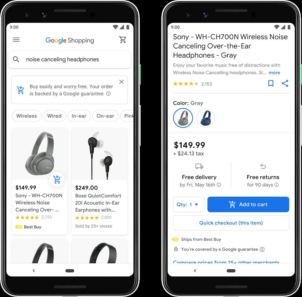 Google обновляет интерфейс сервиса «Покупки»